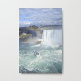 Rainbows and Mist Metal Print