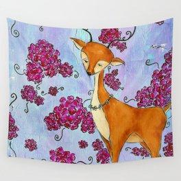 Hello, Deer! Wall Tapestry