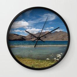 Pangong Tso Lake Wall Clock