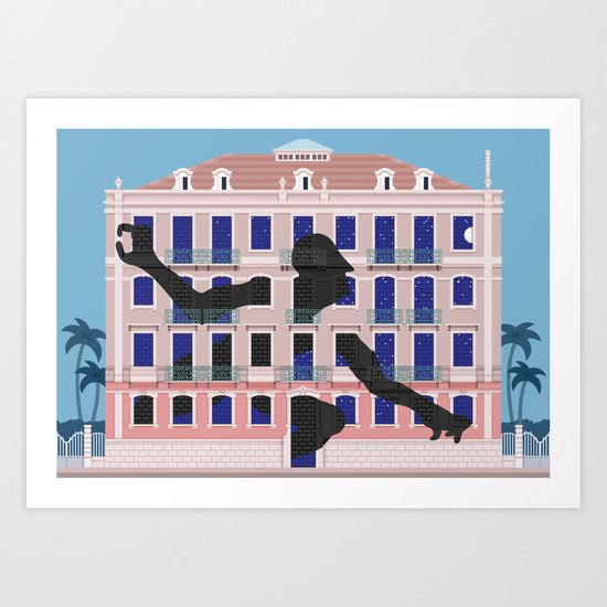 Lisbon Street Art by Sam3 Art Print