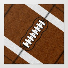 Fantasy Football Super Fan Touch Down Canvas Print