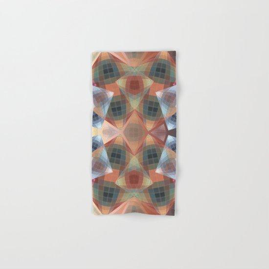 Diamonds and patterns, trendy geometric abstract Hand & Bath Towel
