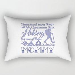 Hiking Mommy Rectangular Pillow