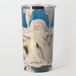 William Blake - When the Morning Stars Sang Together, 1804 Travel Mug