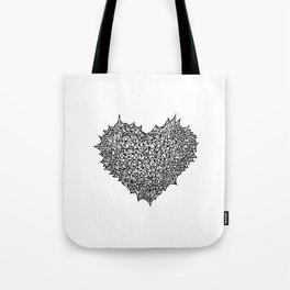 The Heart of Thorns Tote Bag