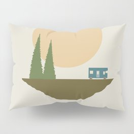 Sunny Day for Camping Pillow Sham