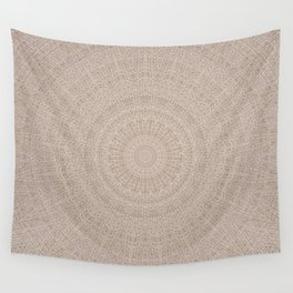 Pallid Base Mandala Wall Tapestry