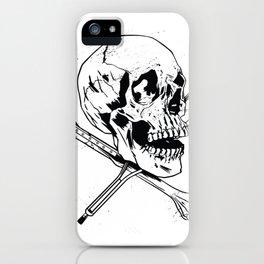 skull crutches  iPhone Case