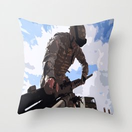 Ma Deuce  Throw Pillow