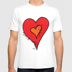 I carry your heart Mens Fitted Tee White SMALL