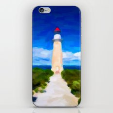 The Lighthouse - Painting Style iPhone & iPod Skin