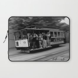 San Francisco Trolley  Laptop Sleeve