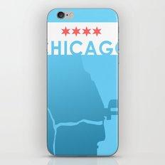 Minimalist Chicago iPhone Skin