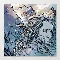 fili Canvas Prints featuring The Hobbit - Fili by lorna-ka