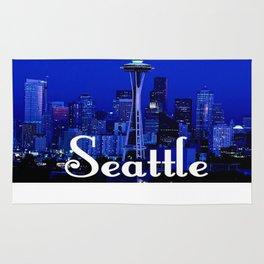 Seattle Space Needle Rug