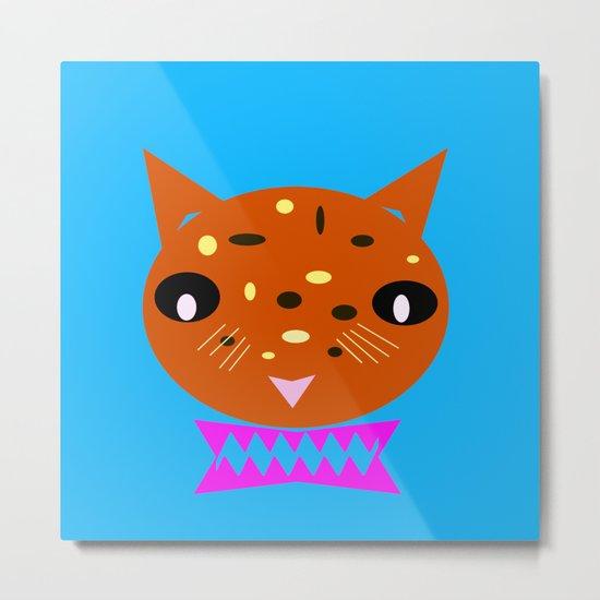Cookie Meow 3 Metal Print