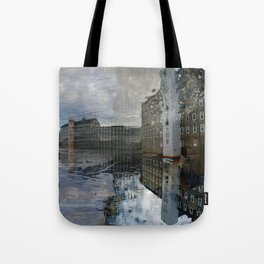 Newmarket Mills Abstraction Tote Bag
