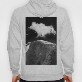 Half Dome Looms on a Cold Spring Day and a Cloud Grows on the Updraft Hoody