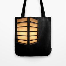 Asian Lamp in the night Tote Bag