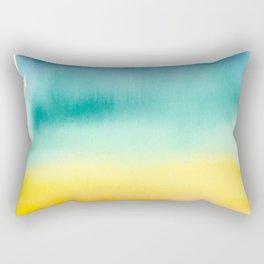 Sunset at the beac Rectangular Pillow