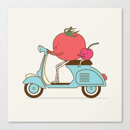 Cherry Tomato Canvas Print