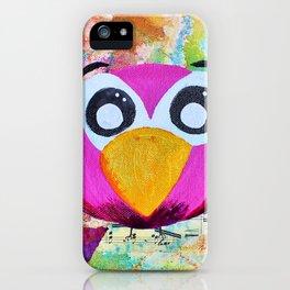 Franco - Quirky Bird Series iPhone Case