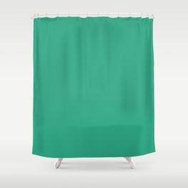 Gumdrop Green Shower Curtain