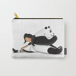 Panda Friend Carry-All Pouch