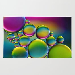 """""""Spherical Joining"""" - Oil and Water Rug"""