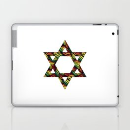 Star of David (Zion) Rasta Laptop & iPad Skin