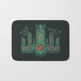 The Crown of Cthulhu Bath Mat