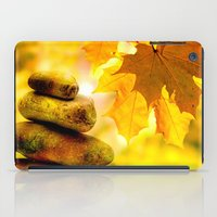 religious iPad Cases featuring Fall meditation  by UtArt