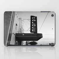 theater iPad Cases featuring Palace Theater by Teran Jones