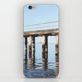Reflecting on life. iPhone Skin