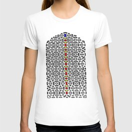 Mughal Window in color T-shirt