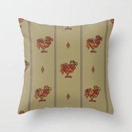 dodo pattern light Throw Pillow