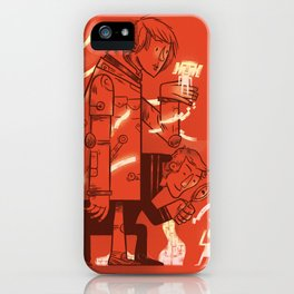 Cross Over iPhone Case