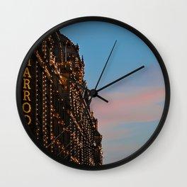 Harrod's Department Store London Wall Clock