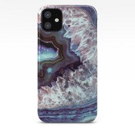 Ocean Blues Quartz Crystal iPhone Case