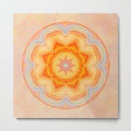 Mandala energy boost Metal Print