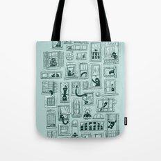 I've Seen Strange Things in City Windows Tote Bag