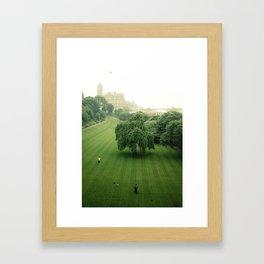 Princes Street Gardens Framed Art Print