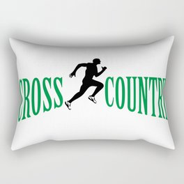 Cross country Rectangular Pillow