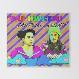 Yas Kween Throw Blanket