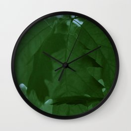 The Mighty Red Oak! Wall Clock