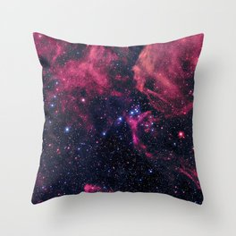 Supernova Remnant Throw Pillow