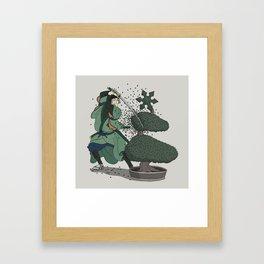 Bush-ido Framed Art Print