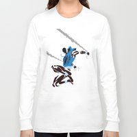 spider man Long Sleeve T-shirts featuring Spider-Man - Scarlet Spider by TracingHorses