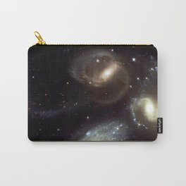 NASA Hubble Space Telescope Poster - Stephan's Quintet Carry-All Pouch