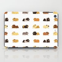 guinea pig iPad Cases featuring Guinea pigs by stephasocks